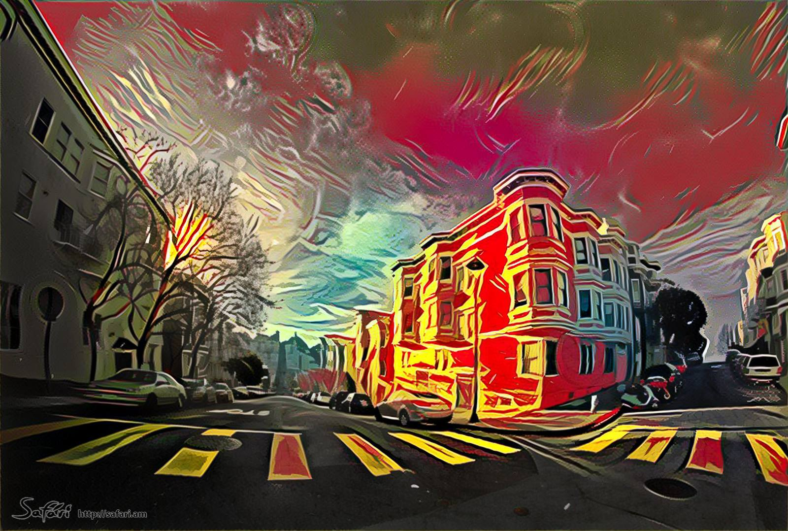 Walking around San Francisco V1.0 by Anastasiy Safari